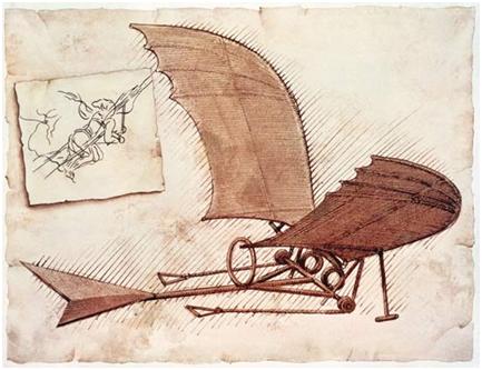 Leonardo da Vinci: la obsesión por volar
