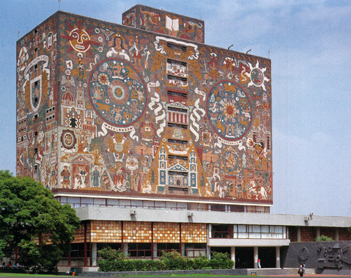 Biblioteca central unam descubre fundaci n unam for Mural de juan o gorman