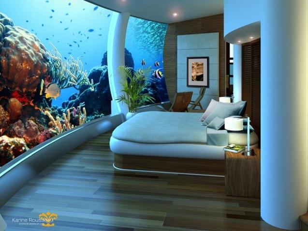 Dormir bajo el agua una experiencia nica descubre for Hotel bajo el agua precio