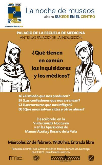 ¿Qué tienen en común los inquisidores y los médicos?