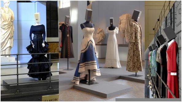 Historia de la moda italiana en el museo Franz Mayer