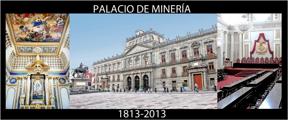 Recorre el Palacio de Minería en tu dispositivo móvil