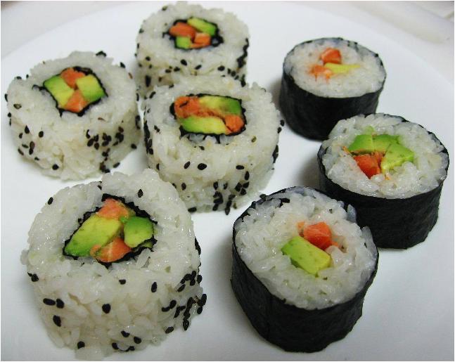 Receta Rollos Sushi