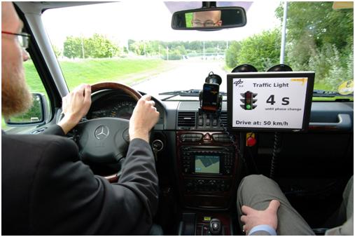 Tecnología car-to-x predecirá en el futuro los embotellamientos