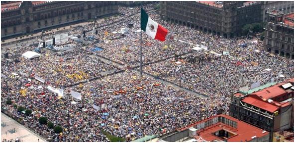 México ocupa el lugar 11 en el ranking de los países más poblados
