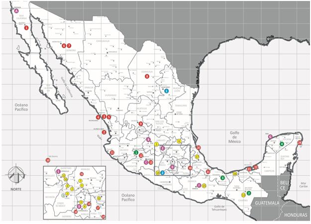 Presencia de la UNAM en todo México