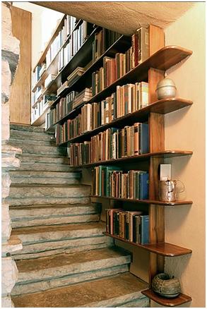 Bibliotecas en escaleras descubre fundaci n unam for Biblioteca debajo de la escalera