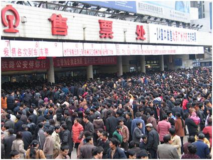 China y la migración masiva obligada