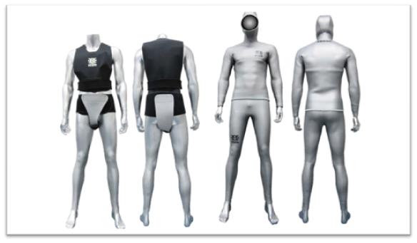 Como con los súper héroes, la ropa interior protege