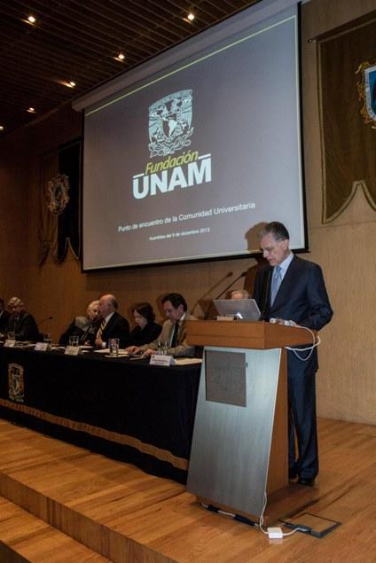 Rafael Moreno Valle Suárez concluye su gestión al frente de Fundación UNAM