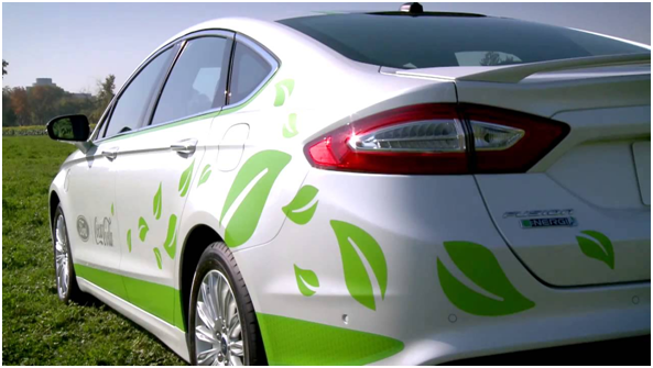 """Material """"PlantBottle,"""" ahora en autos"""