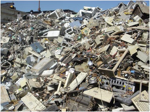 Basura electrónica, otro problema por resolver para los países emergentes