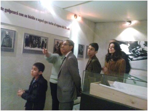 El Embajador de Egipto nos visita