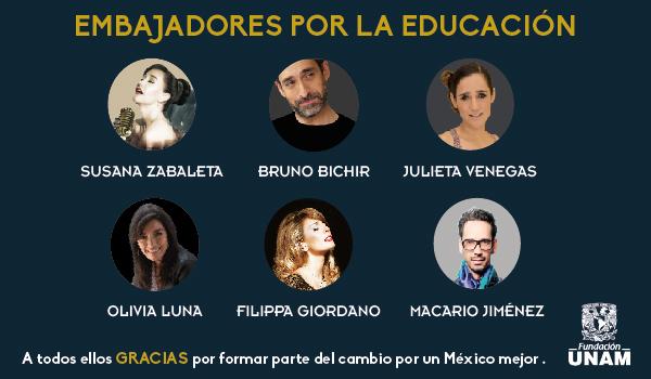 Embajadores por la educación