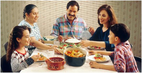 Comer sano, comer en familia