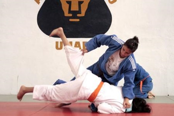 Judo en Ciudad Universitaria