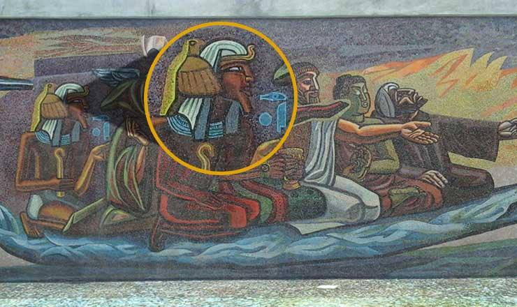 Mural quetzalcoatl chocolate and the brain part 1 for Mural quetzalcoatl